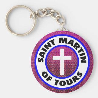 Saint Martin of Tours Keychain
