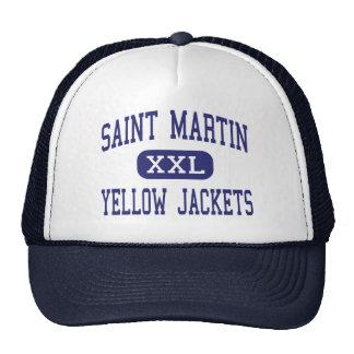 Saint Martin - Yellow Jackets - Ocean Springs Trucker Hat