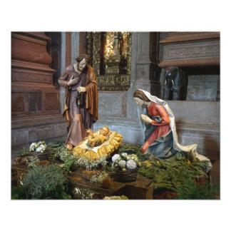 Saint Mary, Jesus and Saint Joseph in Jeronimos Flyer