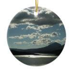 Saint Mary Lake I at Glacier National Park Ceramic Ornament