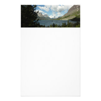 Saint Mary Lake II at Glacier National Park Stationery