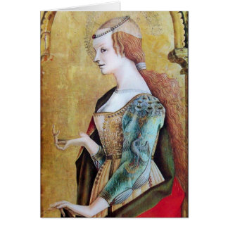 SAINT MARY MAGDALENE 2 Gold,Red Card