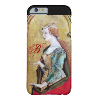 SAINT MARY MAGDALENE 2 MONOGRAM Gold,Red Barely There iPhone 6 Case