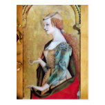 SAINT MARY MAGDALENE 2 Red, Gold,Parchment Post Cards