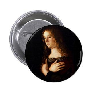Saint Mary Magdalene - Bellini Button