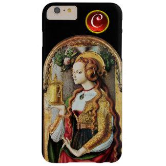 SAINT MARY MAGDALENE  Ruby Gem Monogram ,Black Barely There iPhone 6 Plus Case