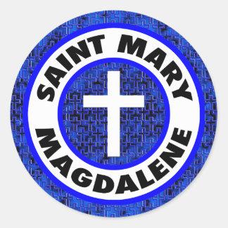 Saint Mary Magdalene Classic Round Sticker