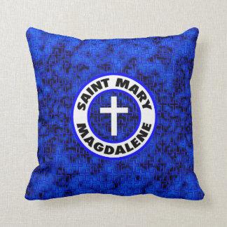 Saint Mary Magdalene Throw Pillow