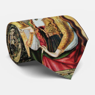 SAINT MARY MAGDALENE & VIRGIN WITH CHILD NECK TIE
