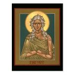 Saint Mary of Egypt Prayer Card Post Card