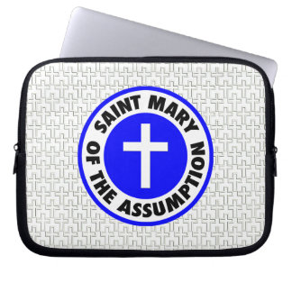 Saint Mary of the Assumption Laptop Computer Sleeves