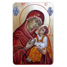 Saint Mary Theotokos Magnet