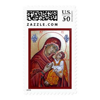 Saint Mary Theotokos Postage