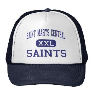 Saint Marys Central - Saints - High - Bismarck Trucker Hats