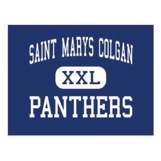 Saint Marys Colgan - Panthers - High - Pittsburg Post Cards