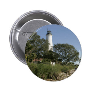 Saint Marys Lighthouse 2 Inch Round Button