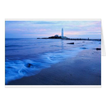Saint Mary's Lighthouse at Whitley Bay Card