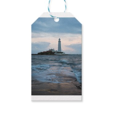 Saint Mary's Lighthouse at Whitley Bay Gift Tags