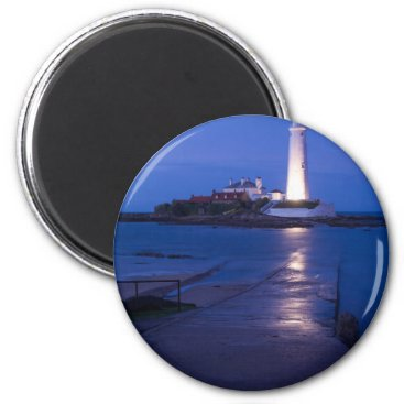 Saint Mary's Lighthouse at Whitley Bay Magnet