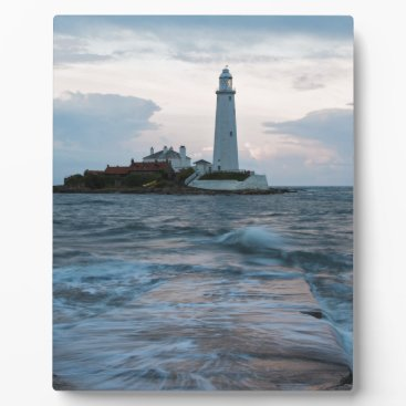 Saint Mary's Lighthouse at Whitley Bay Plaque