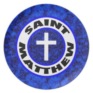 Saint Matthew Plate