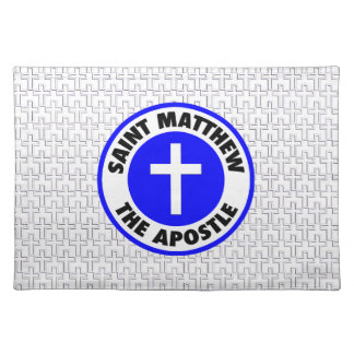 Saint Matthew the Apostle Cloth Placemat