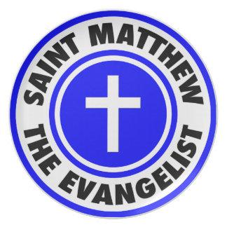 Saint Matthew the Evangelist Plate