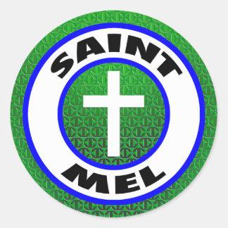 Saint Mel Classic Round Sticker
