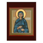 Saint Melania Prayer Card Postcard