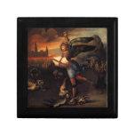 Saint Michael and the Dragon Keepsake Box