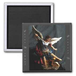 Saint Michael Angel magnet