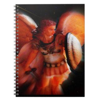 Saint Michael Angel Notebook