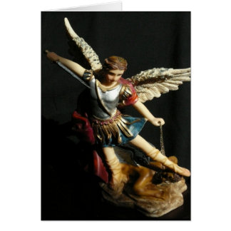 Saint Michael Angel Prayer card