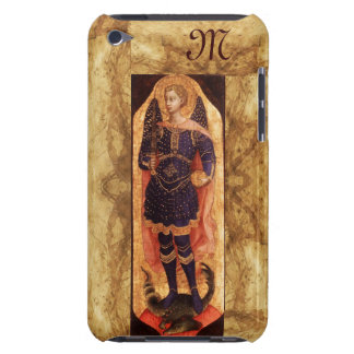 SAINT MICHAEL ARCHANGEL WITH DRAGON monogram iPod Touch Cover