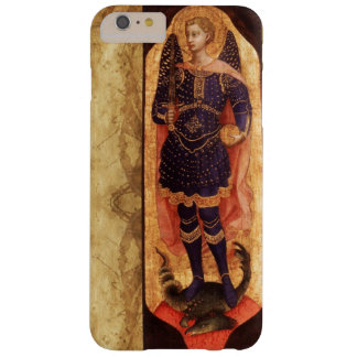 SAINT MICHAEL ARCHANGEL WITH DRAGON OLD PARCHMENT BARELY THERE iPhone 6 PLUS CASE