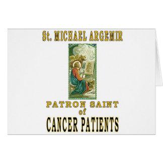 SAINT MICHAEL ARGEMIR GREETING CARD