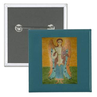 Saint Michael Pinback Buttons