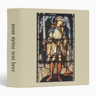 Saint Michael by Burne Jones, Vintage Archangel Binder