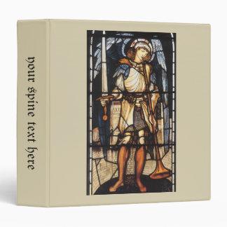 Saint Michael by Burne Jones, Vintage Archangel Binder