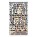 Saint Michael by Burne Jones, Vintage Archangel Double-Sided Standard Business Cards (Pack Of 100)