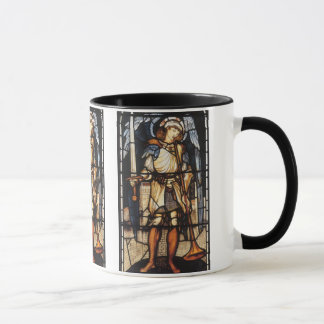 Saint Michael by Burne Jones, Vintage Archangel Mug
