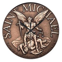 Saint Michael Clock