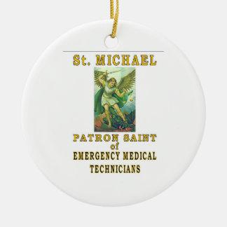 SAINT MICHAEL EMT CHRISTMAS ORNAMENT