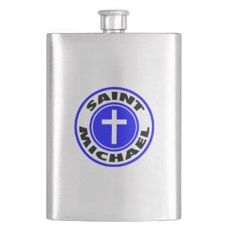 Saint Michael Flask