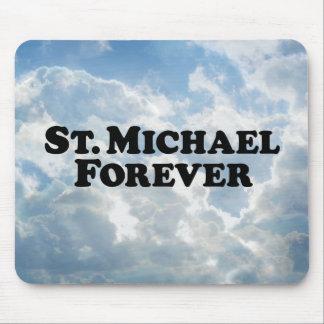 Saint Michael Forever - Basic Mouse Pad