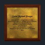 "Saint Michael Gift Box<br><div class=""desc"">Beautiful gift box with the Saint Michael Prayer.</div>"
