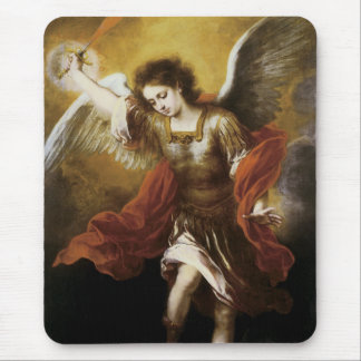 Saint Michael Mouse Pad