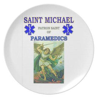SAINT MICHAEL PLATE