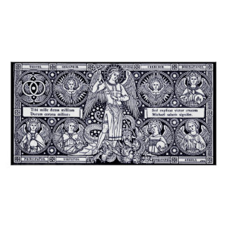 Saint Michael  Posters