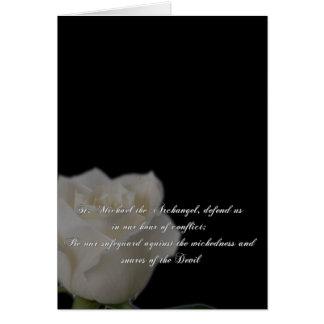 Saint Michael Prayer Card